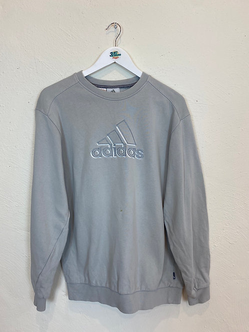 Embroidered Adidas Sweater (M)