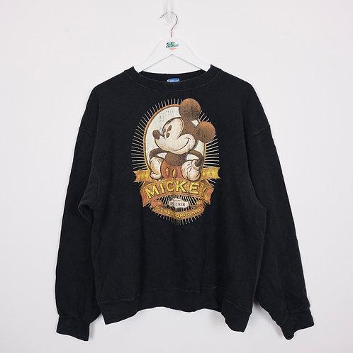 Vintage Mickey Mouse Sweatshirt (XL)