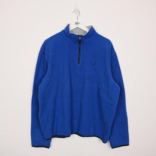 Nautical Royal Blue Fleece (XL)