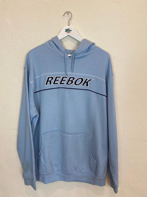 Light Blue Rebook Hoodie (XL)