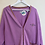Thumbnail: Purple Horsey Cardigan (M)