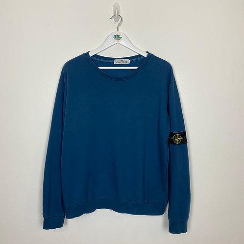 Dark Blue Authentic Stone Island Sweater (L)