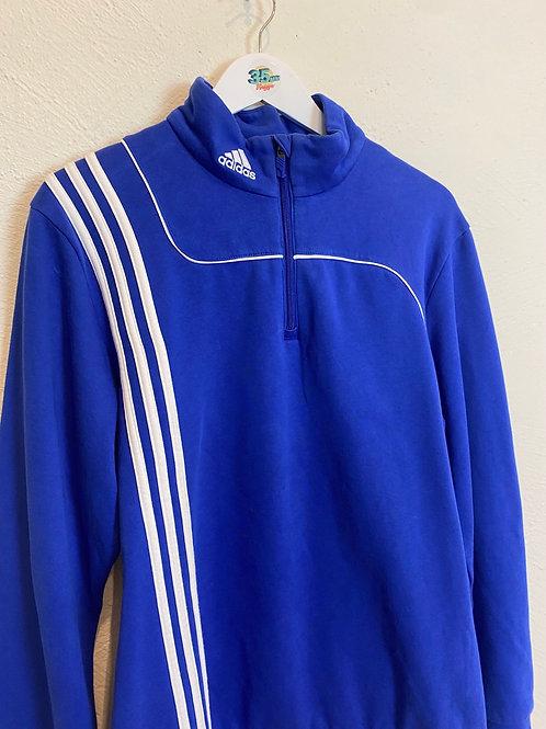 Adidas Blue 1/4 Zip