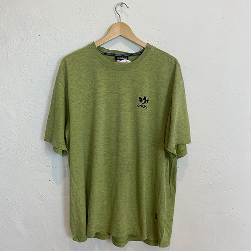 Green Adidas T-shirt (L)