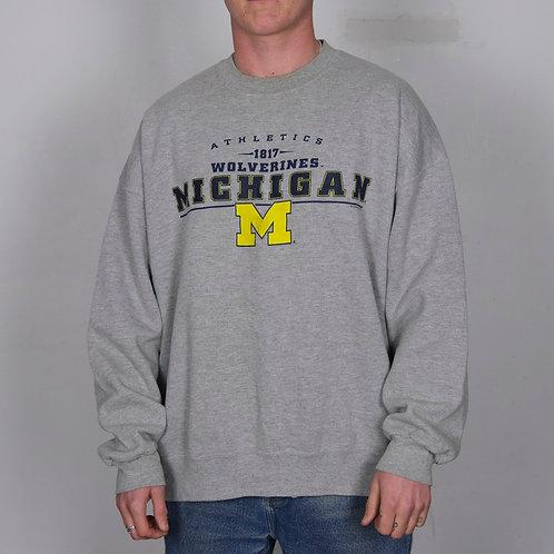 Vintage Michigan Wolverines Sweatshirt (XL)