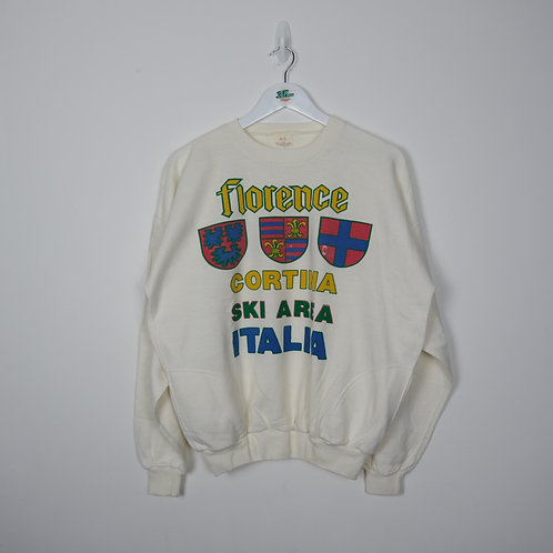 Vintage Florence Graphic Sweater (XL)