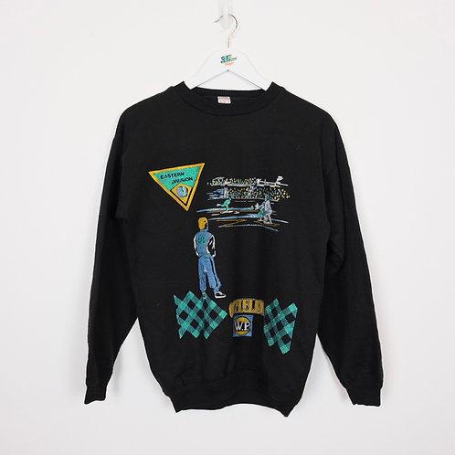 80's Graphic Sweater (S Women's)
