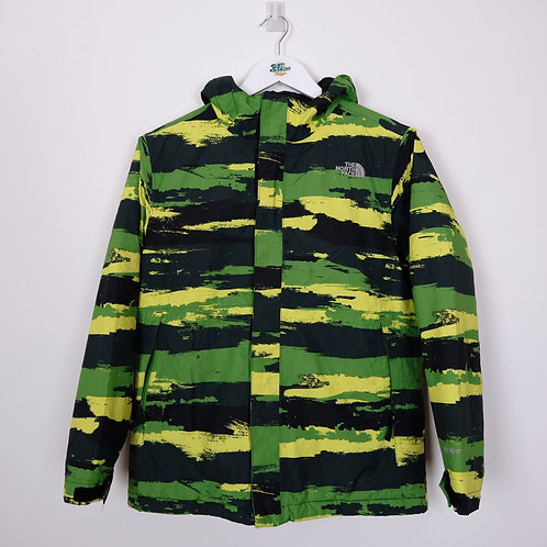 TNF Green Camo Jacket (Large Boy's)
