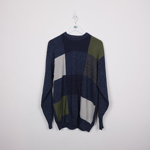 Vintage Knitted Sweater (XL)