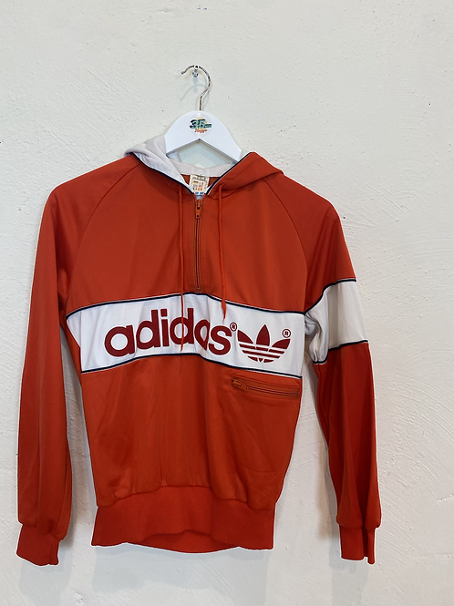 90's Adidas Hooded Q-Zip (S)