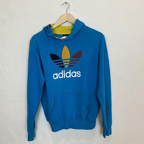 Blue Adidas Hoodie (XL)