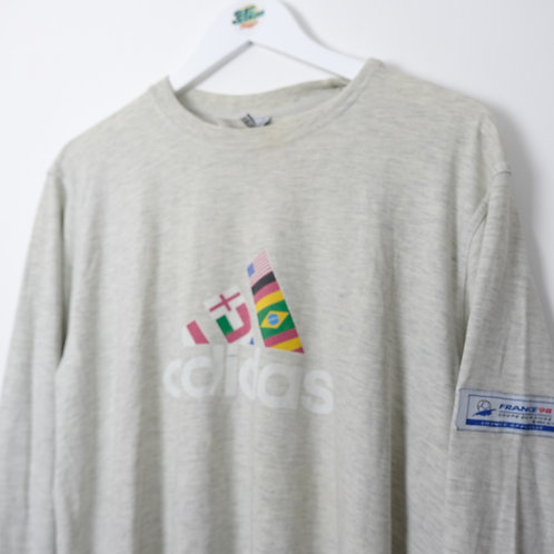 Rare France Coupe de Monde 98 Long Sleeve Tee (S)