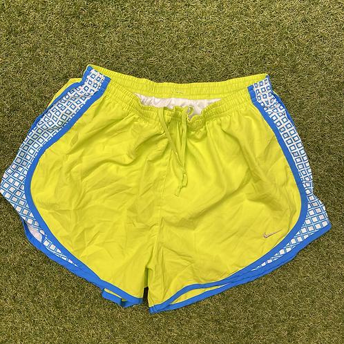Nike Neon Yellow Sports Shorts (L)