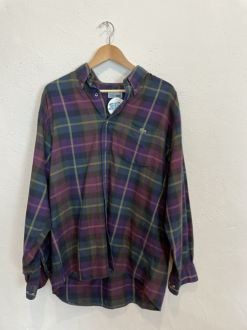 Lacoste Checkered Shirt (XL)