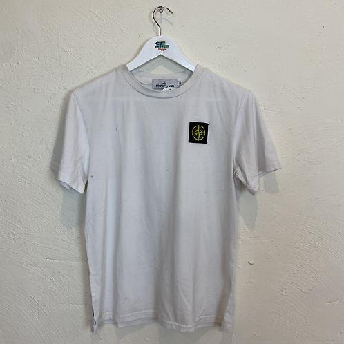 Stone Island White T-shirt (L)