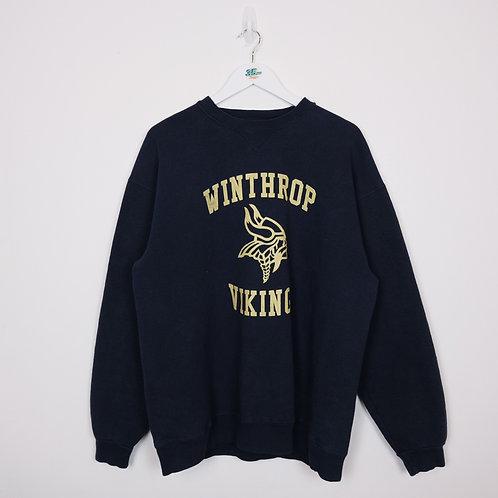Vintage Winthrop Vikings Jumper (XL)
