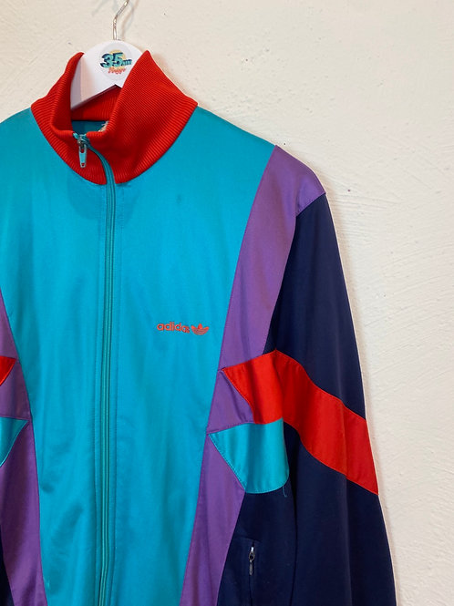 Back Print 90's Adidas Track Jacket (S)