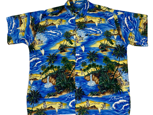 Beach Print Shirt (XL)