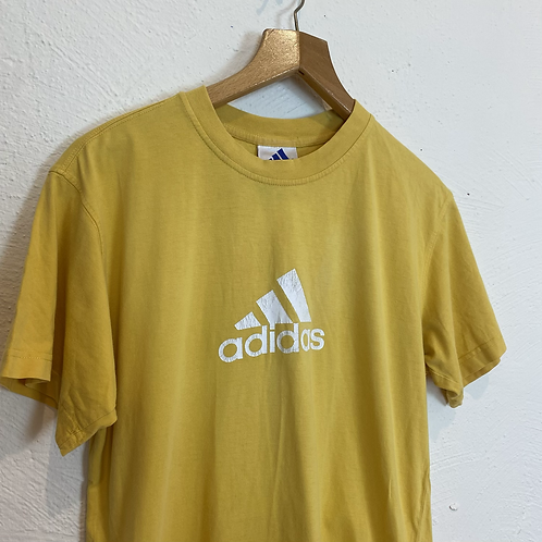 Yellow Adidas T-shirt (L)