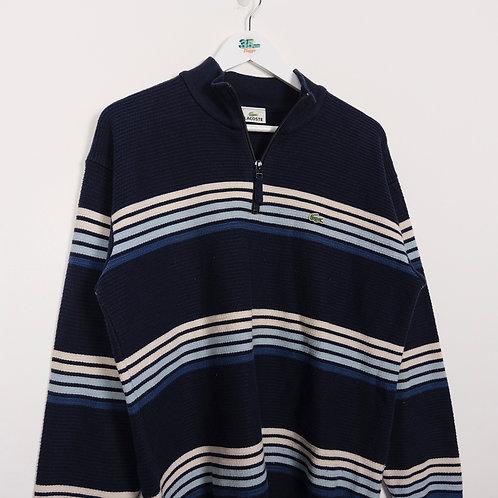 Lacoste 1/4 Zip Sweater (M)