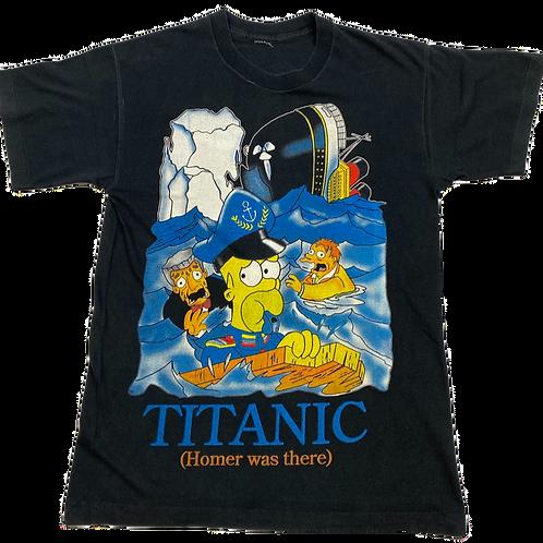Simpson's Totanic Graphic Tee (S)