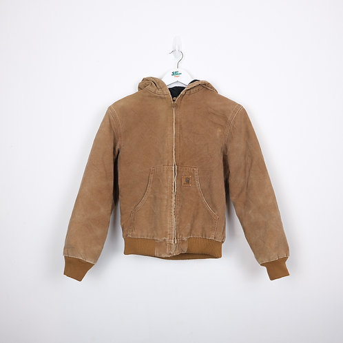 Carhartt Tan Fleece Lined Jacket (L Kids)