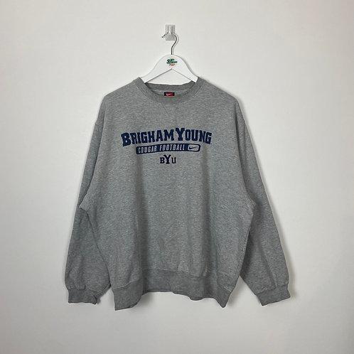 Vintage Nike BYU Sweatshirt (Men's XL)