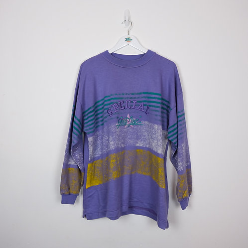 90's Graphic Sweater (XL)