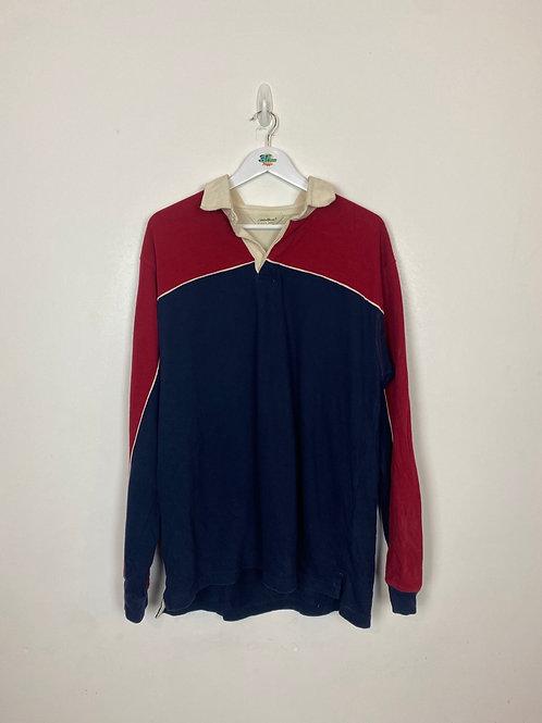 Vintage Eddie Brown Long Sleeve Polo (XL)