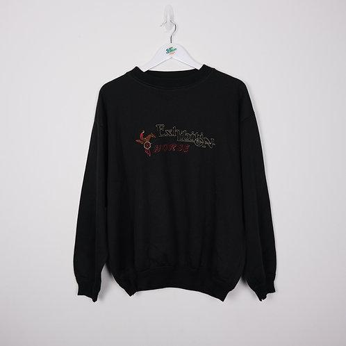 Vintage Embroidered Sweatshirt (M)