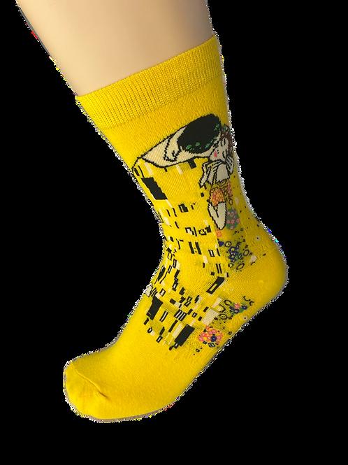 Yellow Arty Socks