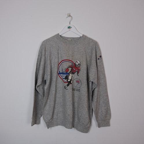90's Champion Graphic Sweater