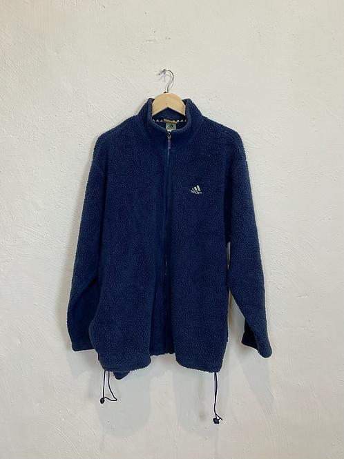 Vintage Adidas Fleece Jacket (XL)