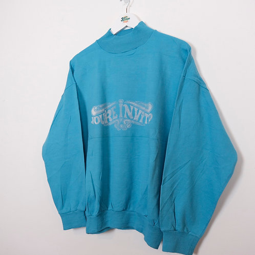 You're Invited 90's Graphic Sweater (M)