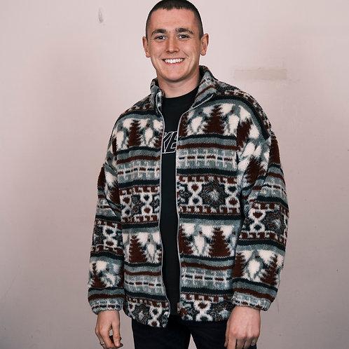 Vintage Pattern Fleece (L)