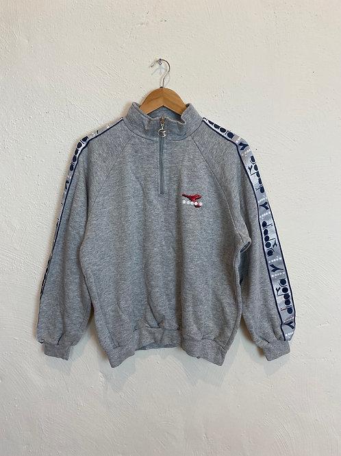 Vintage Diadora Q Zip Sweater (S)