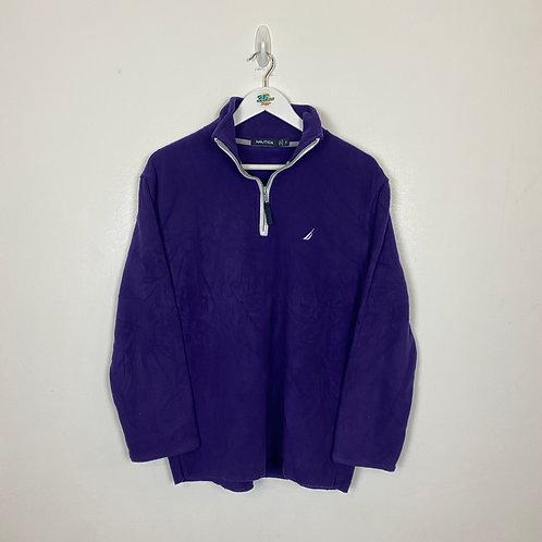 Nautical Purple Fleece (S)