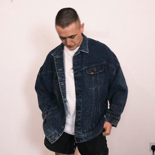 Vintage Lee Acid Wash Denim Jacket (L)