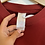 Thumbnail: Red Adidas T-shirt (S)