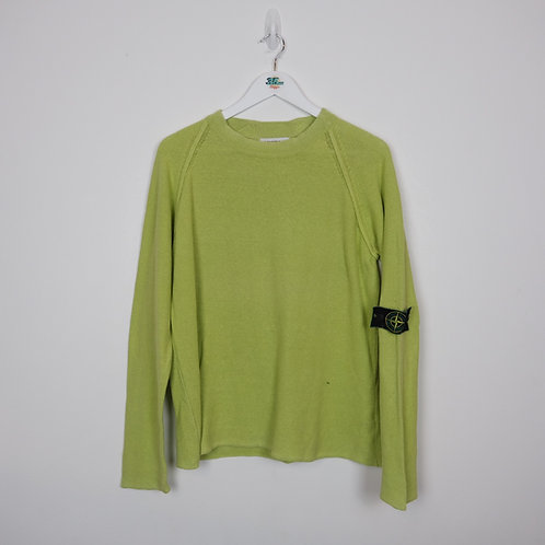 Stone Island Lime Jumper (S)