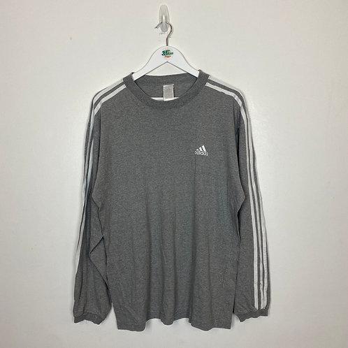 Grey Adidas Sweater (L)
