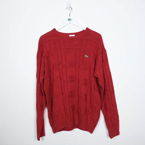 Lacoste Red Knit (L)