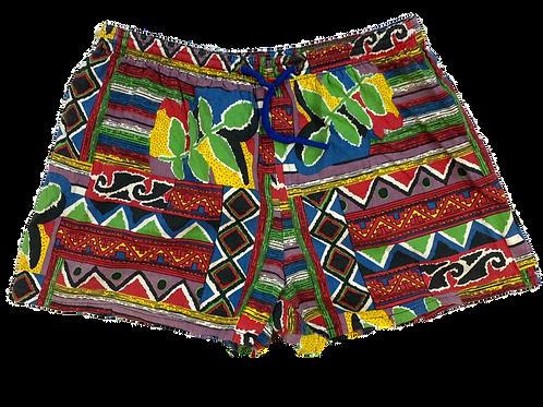 Crazy Print Swim Shorts (M)