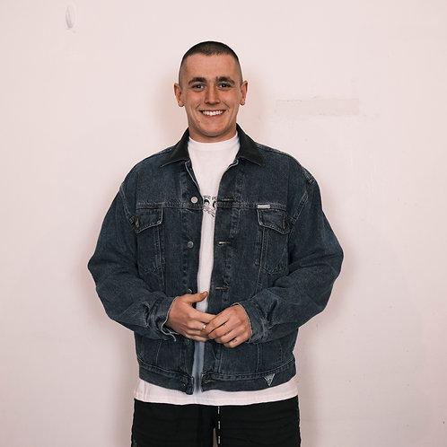 90's Guess Denim Jacket (L)