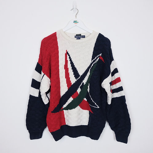 Hand Knit Nautica Jumper (S)