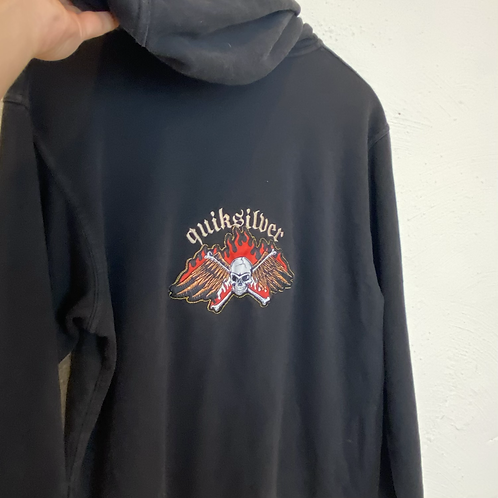 Quicksilver Hooie with Backprint (S)