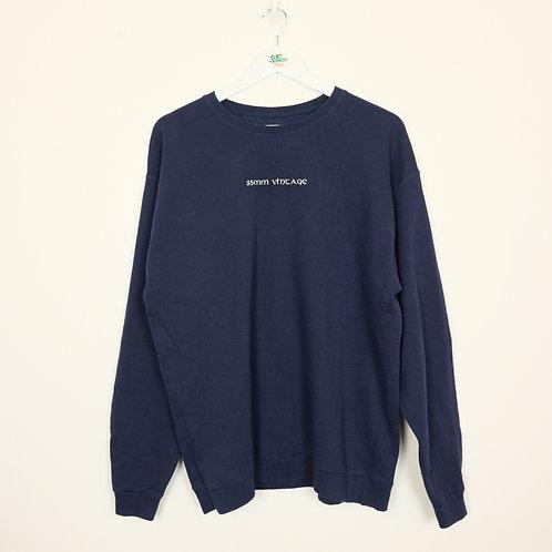 35mm Vintage Navy Sweater (L)