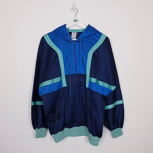 90's Adidas Hooded Track Top (M)