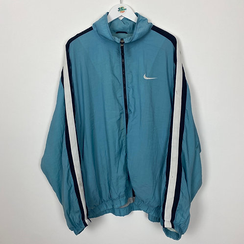 90's Nike Shell Back Swoosh Jacket (XXL Men's)