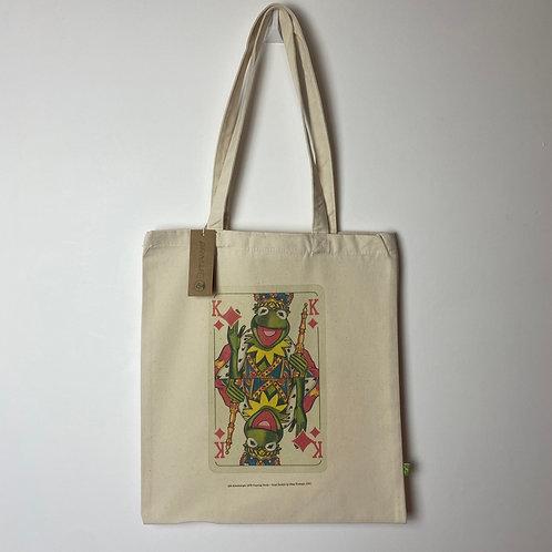 King Kermit Tote Bag